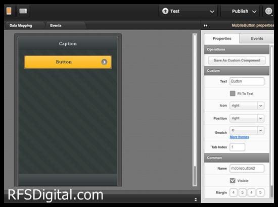 Tiggzi: Editor de aplicaciones web móviles