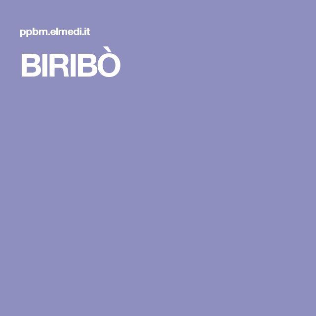 BIRIBÒ