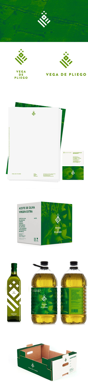 Vega De Pleigo extra virgin #oliveoil #packaging #branding PD