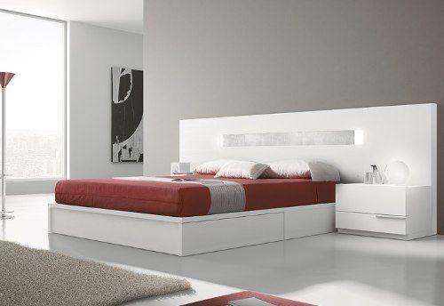 Cama, Respaldar, Juego De Dormitorio Le Carpentier D11048 - $ 7.610,00 en MercadoLibre