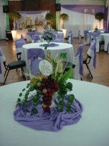 Cómo decorar una fiesta de primera comunión - LaCelebracion.com