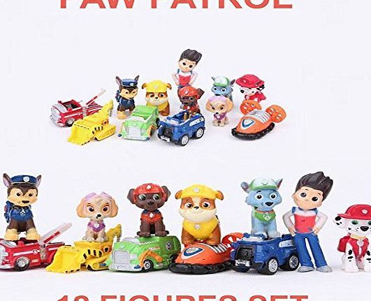 Unknown Paw Patrol Cake Toppers Action Figures Puppy Patrol Dog Kids Toy Gift 12pc Set Paw Patrol Cake Toppers Action Figures Puppy Patrol Dog Kids Toy Gift 12pc Set (Barcode EAN = 0638563229288). http://www.comparestoreprices.co.uk/december-2016-week-1-b/unknown-paw-patrol-cake-toppers-action-figures-puppy-patrol-dog-kids-toy-gift-12pc-set.asp