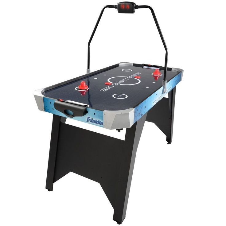 Air Hockey Table Sports Game LED Electronic Scoring For Kids Child Family  Fun