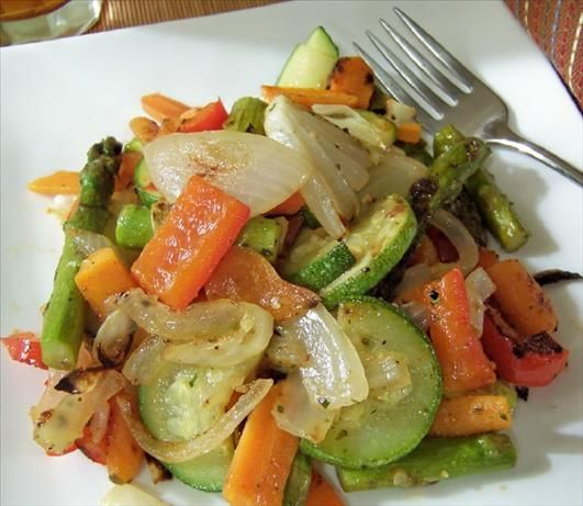 The Easiest (and Best) Oven Roasted Vegetables | Recipe