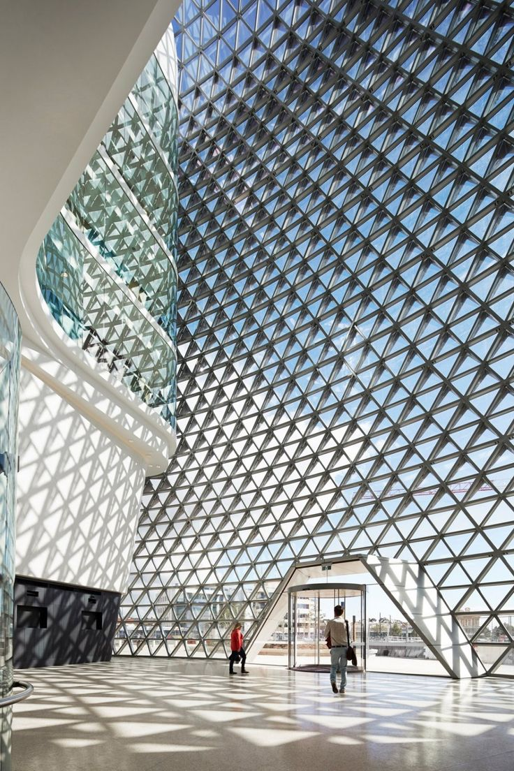 SAHMRI, the South Australian Health and Medical Research Institute designed by Woods Bagot.