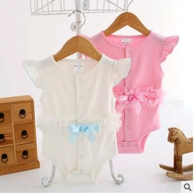 5.72$  Watch here - http://ali797.shopchina.info/go.php?t=32738641634 - Newborn Baby gril Romper Princess lace baby girls Clothes Jumpsuits  cotton Roupas De Bebe Infantil Baby grils Clothing 0-12M  #buyonlinewebsite