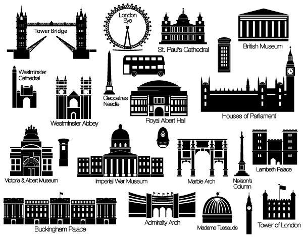 Resultado de imagen para london desenhos