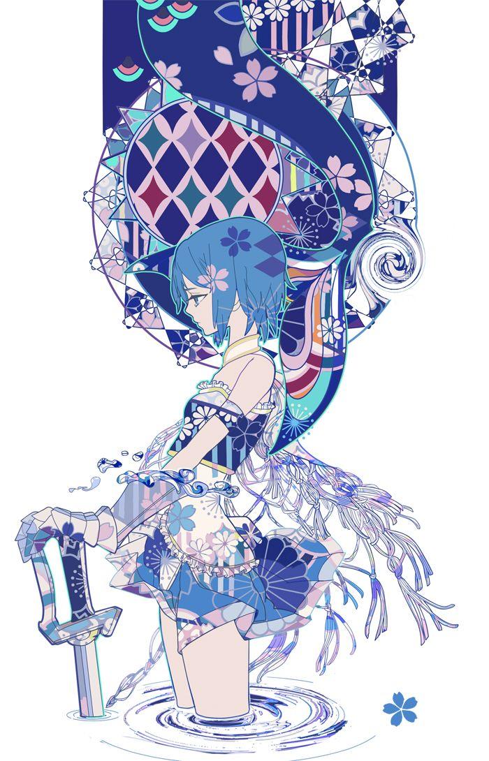 Mahou Shoujo Madoka☆Magica 〖 Puella Magi Madoka Magica Mahou Shoujo Maho Shojo Sayaka Miki 〗
