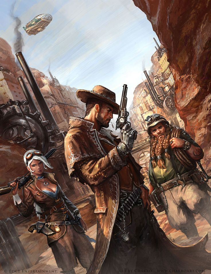 ArtStation - Steam States cover art, Javier Charro