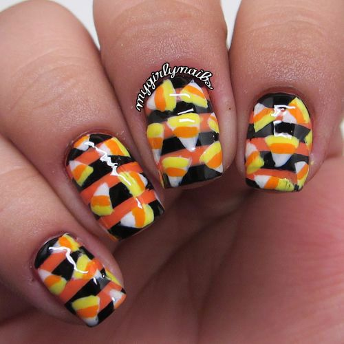 38 best halloween candy corn nail art images on pinterest check out this collection of halloween candy corn nails art designs ideas of prinsesfo Image collections
