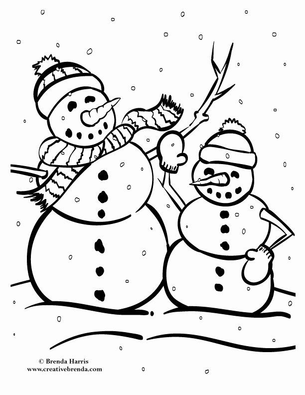 Winter Coloring Pages Pdf New Winter Coloring Pages Creative Brenda In 2020 Coloring Pages Winter Colors Adult Coloring Page