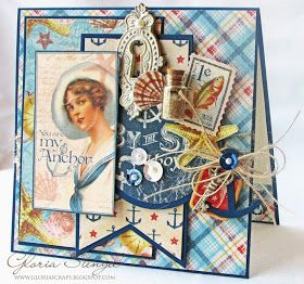 Quite a few tutorials on cards, mini albums and memory boxes by Gloria Stengal of Scraps of Life