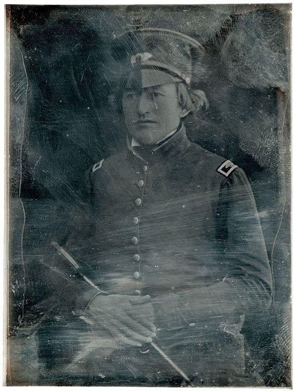 Unidentified infantry colonel], daguerreotype, ca. 1847
