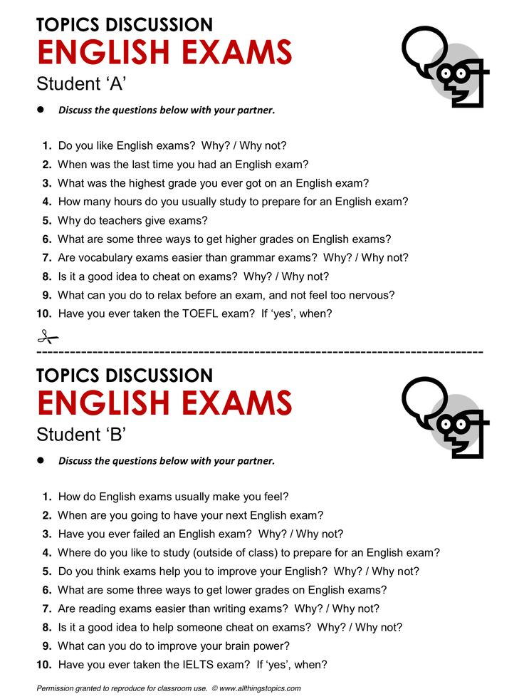 topic english essay