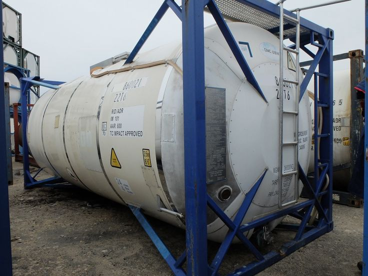 Used ISO Tank Container (021) |