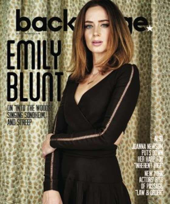 Emily Blunt – Backstage Magazine (December 2014) in 2019 ...