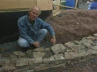 I have a huge retaining wall planned for the front yard. It will be about 3 feet tall, 20 to 30 feet long and have 2, possibly 3 tiers... Good article on retaining wall basics