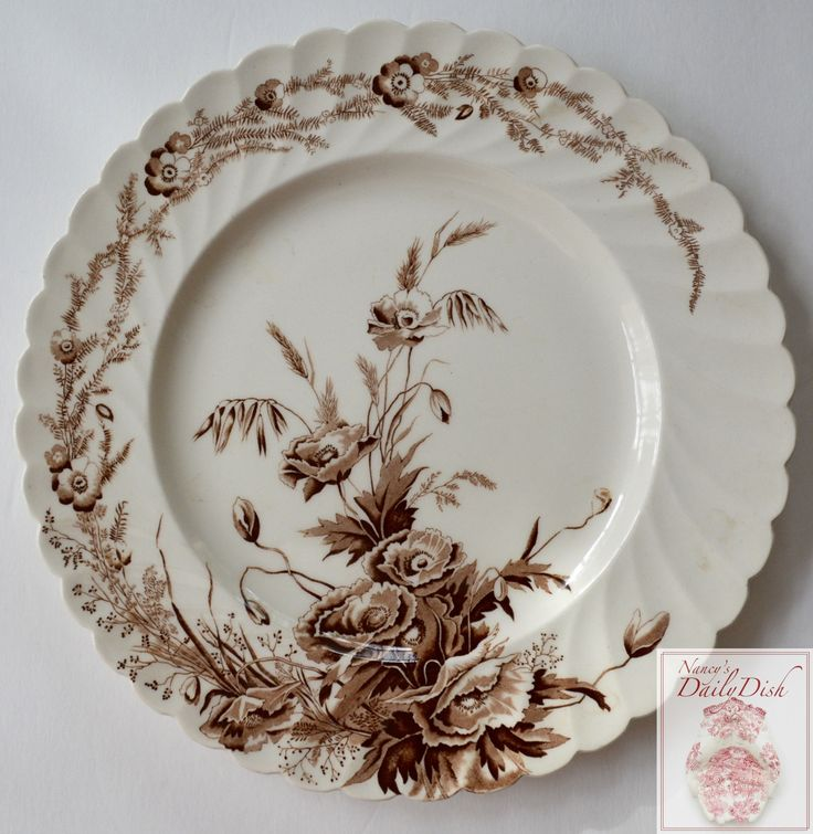 Transferware - Porcelain and pottery -
