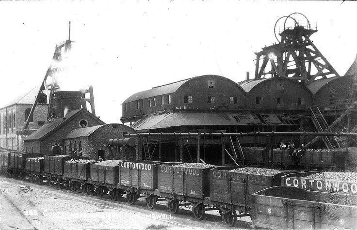 Cortonwood Colliery, Wombwell, near Barnsley, South Yorkshire, 1908