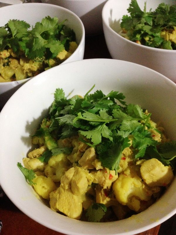 Easy Balinese Style Curry