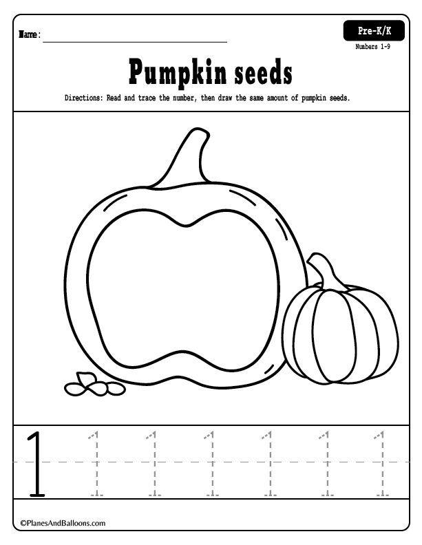 Pumpkin Worksheets For Teaching Basic Preschool Math Preschool Math Learning Counting Worksheets For Kindergarten Learning Numbers Preschool Pumpkin worksheets for kindergarten