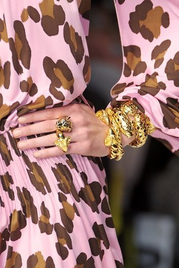 leopard + gold