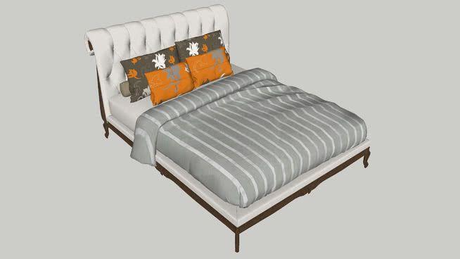Yatak 3d Warehouse Bedroom Sketchup Model Bed