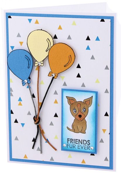 MT593 Friends Fur Ever Card