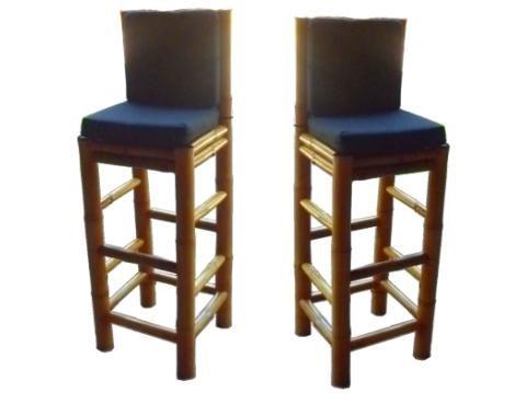Muebles de bamb para comedor sillas para desayunador y for Sillas para desayunador
