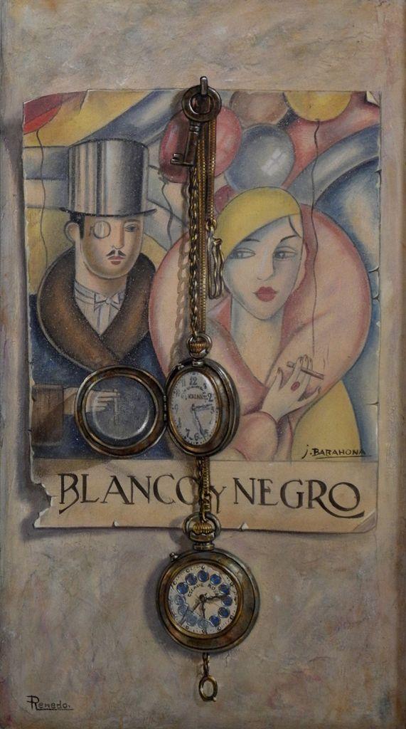 Relojes #art #painting Oleo sobre Lienzo http://ricardorenedo.gallery/