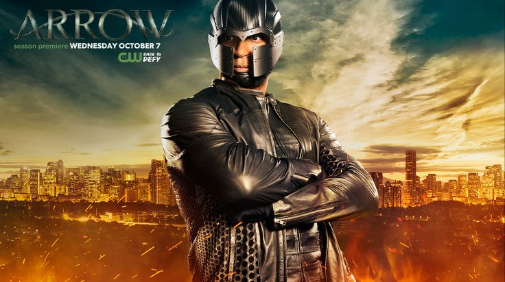 Check out Diggle's new suit in action Wednesday, October 7 on the season premiere of #Arrow!
