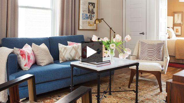 What a lovely tiny home! Smart Small Space Decorating Ideas | House & Home