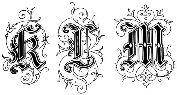 old english alphabet coloring pages - photo#17