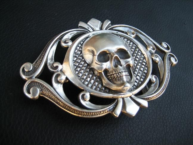 Deadmans belt buckle by flintlockprivateer  ©2010-2014 flintlockprivateer