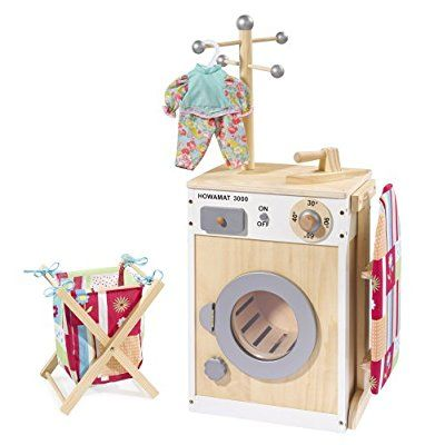 Waschmaschine / Wäschecenter aus Holz von howa 48141