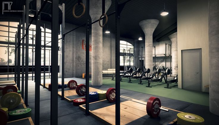 Crossfit box interior google search