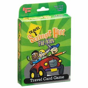 Scavenger Hunt for Kids Travel Game