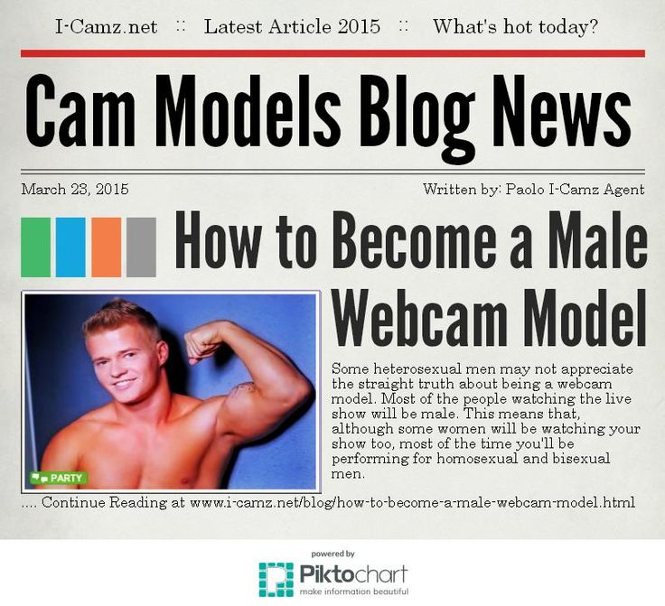 Latest article from www.i-camz.net Cam Models Blog - Want to know the best way to cam as a straight male cam model? www.i-camz.net/blog/how-to-become-a-male-webcam-model.html #HowToBecomeAMaleWebcamModel!!