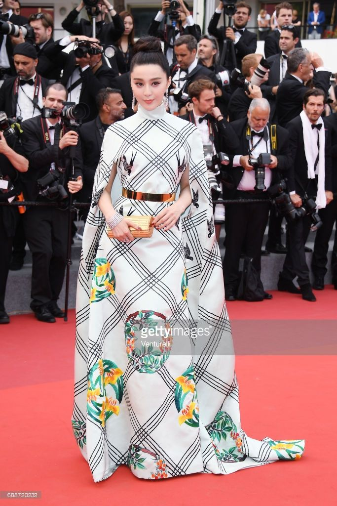 Jury member Fan Bingbing attends the 'Amant Double (L'Amant Double')' screening during the 70th annual Cannes Film Festival at Palais des Festivals on May 26, 2017 in Cannes, France.