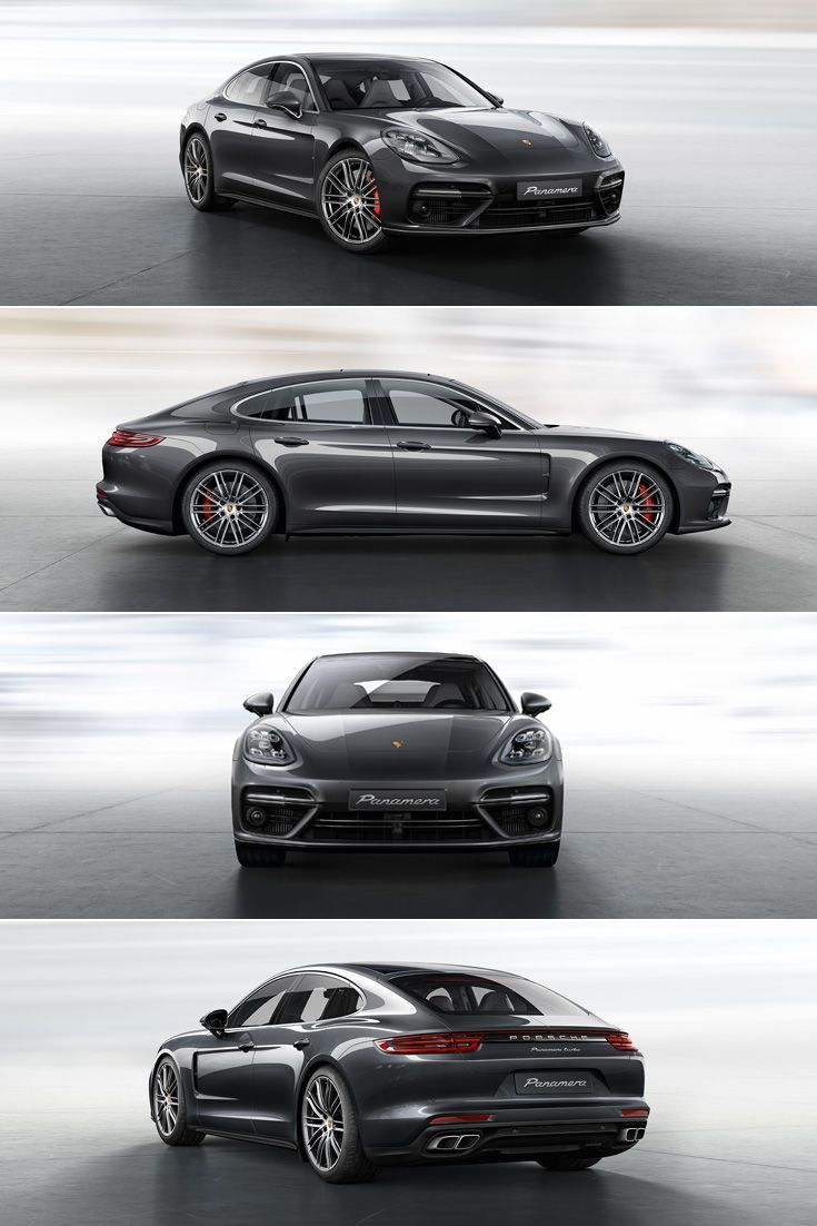 The new #Panamera Turbo: The twin tailpipes are specific to the Turbo, the brake calipers behind the 20-inch Panamera Turbo wheels are finished in red. Learn more: link.#porsche.com/... *Combined fuel consumption in accordance with EU 6: 9.4-9.3 l/100 km; CO2 emissions: 214-212 g/km.