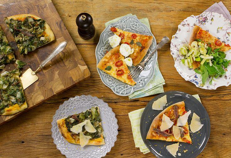Veja uma seleção de receitas para fazer a melhor pizza caseira!