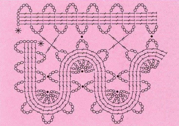 VEAS TAMBIÉN:    Encaje de Brujas Aplicaciones de motivos-Gráficos   http://madona-mia-trico-croche.blogspot.com.es/2013/05/encaje-de-...