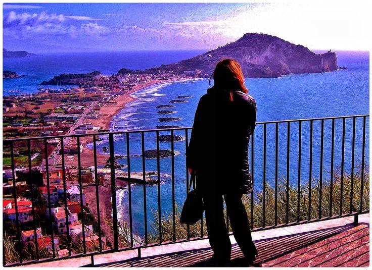 Pensieri al tramonto. Capo Miseno, Miliscola, Bacoli , Golfo di Pozzuoli