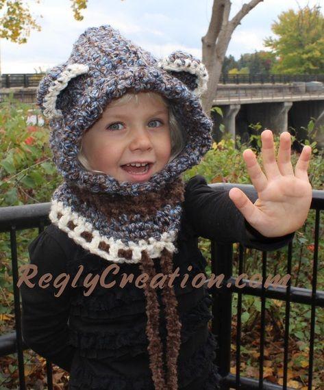 Bear Cowl - www.ReglyCreation.com