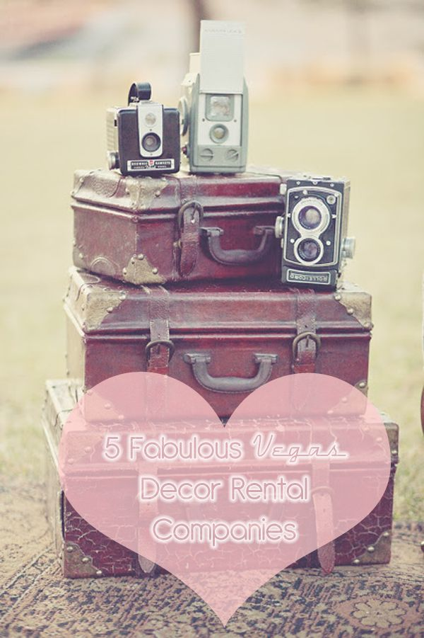 5 companies in Vegas who rent retro and vintage decor to use in your photo shoot or wedding! http://www.littlevegaswedding.com/2013/05/vegas-wedding-rental-decor/ Photo: Alexie Jane Photography