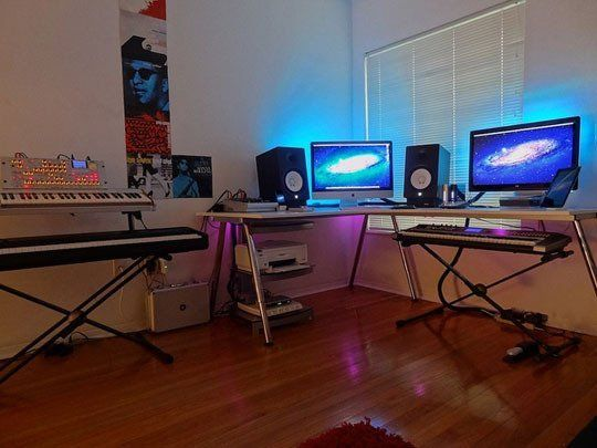 Minimal Home Recording Studio   Google Search | Gloryhouse Studio |  Pinterest | Recording Studio