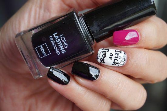 HEMA Long Lasting nail polish black zwart nagellak