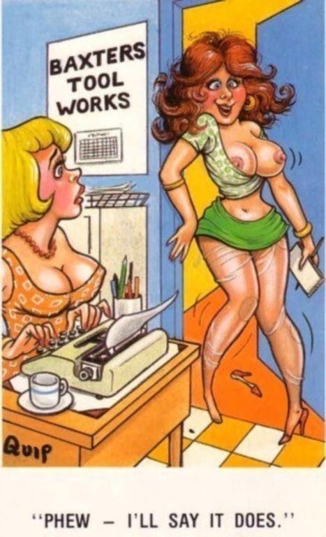 / #lsaucy #postcards #seaside #vintage #retro #humour