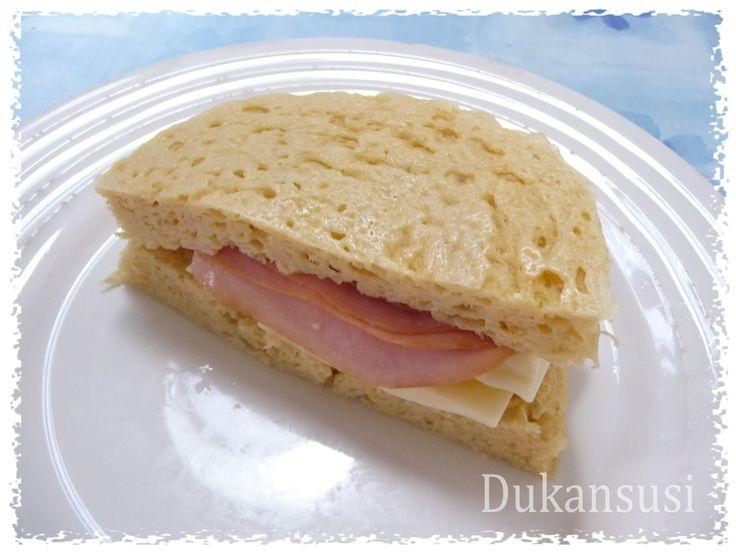 Recetas Dukan - Dukansusi: Pan de molde (sin salvados desde Ataque)