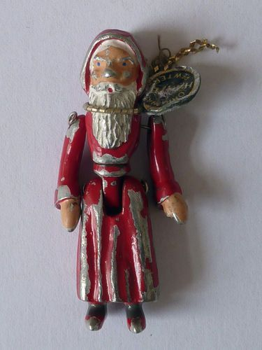 vintage pewter Father Christmas